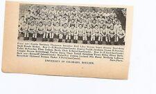 Colorado Buffaloes University & Arizona State 1939 Football Team Picture