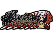 """11.5"""" INDIAN MOTORCYCLE Warbonnet Patch IronOn Embroidered Large SHIPS SAME DAY!"""