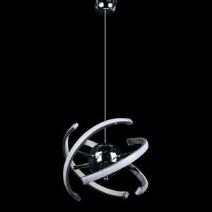 23W LED Acrylic Pendant Light Modern Chandelier Ceiling Fixture Adjustable Cord