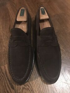 Tod's Mens Classic  Brown Suede  Penny Loafers UK9/ US 10