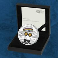 Großbritannien - Music Legends - Elton John - £2 Pound 2020 Silber PP -
