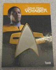 Star Trek Quotable Voyager Communicator Pin Badge -  TUVOK 148/225