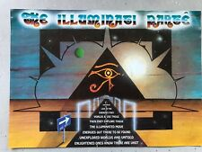 DELIRIUM PIRATE CLUB ILLUMINATI PARTE ROLLER EXPRESS JULY 1992 RAVE FLYERS FLYER