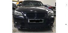 FRONT LIP SPLITTER BMW 5 E60 E61 M-Sport (GLOSS BLACK)