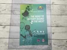 Venus Williams Signed BOTW Bank Of The West Classic Poster Autographed a