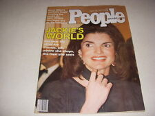 PEOPLE Magazine, April 18, 1977, JACKIE ONASSIS Cover, JOHN RITTER, HOWARD HEAD!
