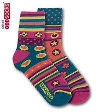 United Oddsocks Spring Size 4-8 UK Sock Womens Patterned Odd Socks Mismatched