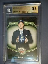 KEVIN LOVE 2008-09 Topps Treasury #105 BGS GEM MINT 9.5 Wolves, Cavaliers RC