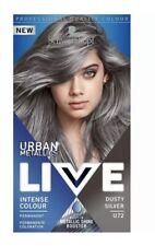 Schwarzkopf Live  Colour Lift Permanent Hair Color Cream U72 Dusty Silver