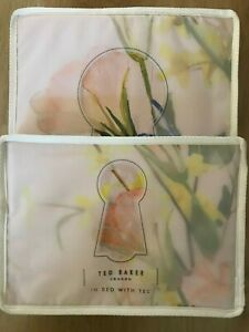 Ted Baker ELEGANT Double Duvet Cover and 2 Pillowcases - New, Sealed