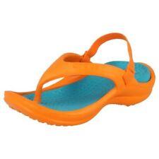 Scarpe Sandali arancione Crocs per bambini dai 2 ai 16 anni