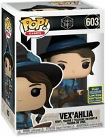 FUNKO POP CRITICAL ROLE VEX'AHLIA BROOM ✅ 2020 SDCC SHARED EXCLUSIVE✅ CONFIRMED