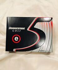 New Bridgestone Golf E5 Golf Balls High Flight 1 Dozen 12 Balls