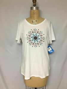 Columbia Women's Butterfly Wing™ Medallion Tee 1837661 White M , XL NWT $30