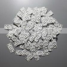 100pcs x 6v LED Diodes Bulbs Aluminum Plate 32-65 inch TV Optical Lens Fliter