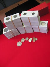 500- Assorted Sized- 2X2 -Cardboard/Mylar Coin Holders -COWENS/GUARDIAN Brand