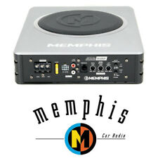 "MEMPHIS AUDIO SA108SP 8"" POWERED UNDERSEAT LOADED AMPLIFIED SUBWOOFER ENCLOSURE"