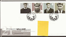 GB FDC 2003 Prine William's 21st Birthday