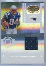 2004 Leaf Certified Materials FB Ben Watson Patriots Rookie Jersey Card 281/1250