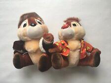 Disney Chip & Dale Chipmunks 🐿 Rescue Rangers Plush Animal Set of 2 Vintage