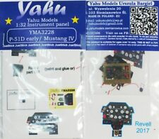 Yahu YMA3228 1/32 P-51D Mustang IV (early) Instrument Panel