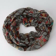 Women Ladies Fashion Scarf Infinity Circle Cable Wrap Scarf Warm Wrap Shawl Gift
