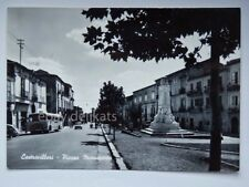 CASTROVILLARI autobus BUS Fiat 500 Piazza Monumento Cosenza vecchia cartolina