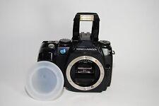 Konica Minolta MAXXUM 5D 6.1 MP Digital SLR Camera - Black - ( for repair )