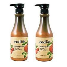 Codi Pomegranate Hand & Body Lotion 25 fl oz (Pack of 2)