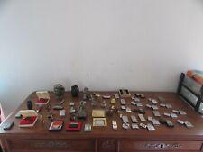 très gros lot de briquets anciens et plus récents accessoires ou autres