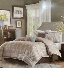 Madison Park Chapman 7-Piece Queen Comforter Set in Blue