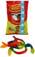 Allens Killer Pythons 1kg Bag Candy  Jelly Snakes Lollies Party Favors Fresh