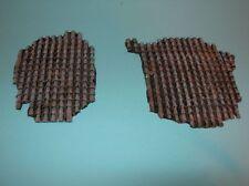 1/35 Scala tetto danneggiato TILE sezioni (2 pezzi in resina)
