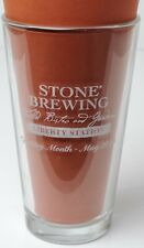 New listing Stone Brewing Liberty Station Opening Month May 2013 Pint Beer Glass