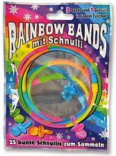 60 NEW Panini Rainbow Bands Wholesale Toys Pocket Money Blind Party Loot Pinata
