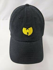 Live Nation Wu-Tang Clan Strap Back Buckle Baseball Hat Logo Black One Size 166