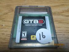 Grand Theft Auto 2 Gta 2 Nintendo Game Boy Color