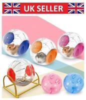 UK Exercise Large Hamster Ball Gerbil Rat Pet Activity Play Toy - 12cm sj6