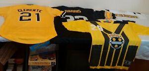 Steelers Pirates Jersey Lot Franco Big Ben Clemente Nike Starter Throwback NFL