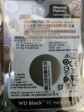 Western Digital WD5000LPLX 500gb 2.5 Inch 7200 RPM - Lenovo System Pull NEW