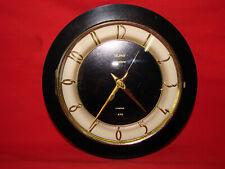 Ancienne horloge murale Trophy formica - Pendule vintage année 60/70 - Old clock