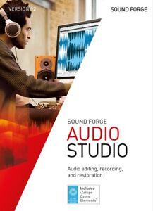 SOUND FORGE Audio Studio 12 - Lizenkey