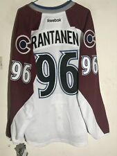 Reebok Authentic NHL Jersey Colorado Avalanche Mikko Rantanen White sz 52