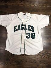 Game Worn Used Eastern Michigan Eagles EMU Baseball Jersey Wilson #36 Size 46/48