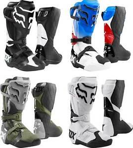 Fox Racing Comp R Boots - MX Motocross Dirt Bike Off-Road ATV Mens Gear