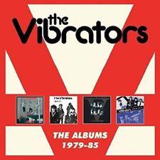 THE VIBRATORS - THE ALBUMS:1979-85  4 CD NEUF