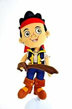 "14"" JAKE AND THE NEVERLAND PIRATES stuffed Disney Parks soft Toy stuffed Figure"