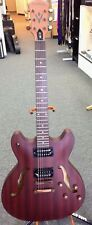Washburn HB32DM Distressed Matte Mahogany 335 Type Semi Hollow Guitar