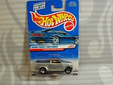 2000 HOT WHEELS ''FIRST EDITIONS'' #085 = DODGE POWER WAGON = SILVER  , 0910