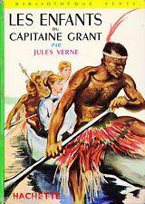 Les enfants du capitaine GRANT / Jules VERNE // Bibliothèque Verte / n° XII